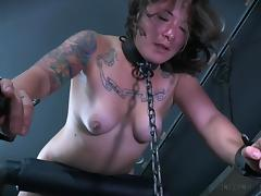 Chained, Babe, BDSM, Brunette, Domination, Punishment