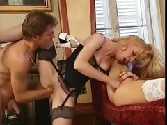 Anal Threesome and Stereo Fisting