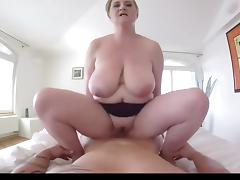 Huge pov boobs riding compilation