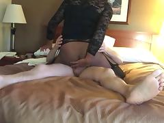 Me riding daddy again in motel