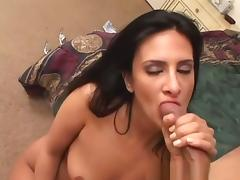 Best pornstar Eva Ramon in crazy pov, blowjob adult clip
