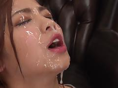 Bukkake, Bukkake, Cum in Mouth, Cumshot, Facial, Japanese