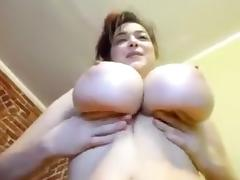 Horny Homemade record with Solo, Big Tits scenes