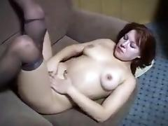 Young Ugly Russian Whore Masturbates