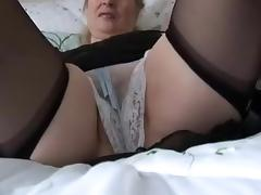 Exotic Amateur record with Stockings, Hairy scenes