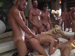 All, Big Tits, Blonde, Deepthroat, Gangbang, Group