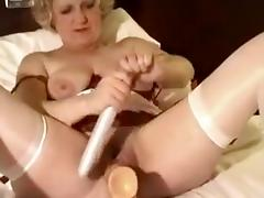 Crazy Amateur movie with Big Tits, Toys scenes