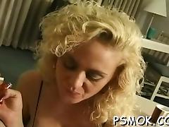 Blonde, Blonde, Blowjob, Handjob, MILF, POV