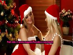 Salma and Karie stunning lesbo girls teasing