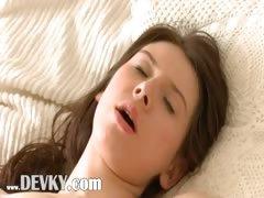 gaunt russian girl teasing wow body