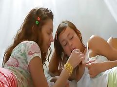 Insane russian lesbo vagina eating