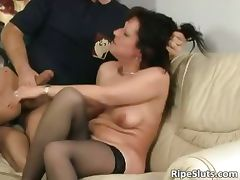Lonely teacher banged and fucked part1