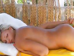 Amazing germanian girl toying asshole