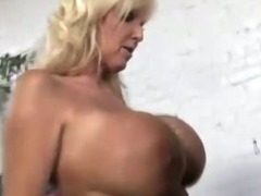 Slutty MILF and younger pigtailed daughter footjob brothas black dong
