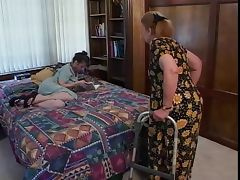 Old Woman, Aged, Brunette, Cougar, Mature, Sex