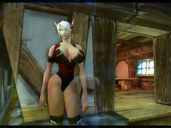 Warcraft My little blood elf Keyla