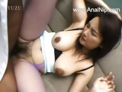 Perfect hairy anal sex from japanese