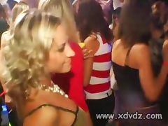 Girls Have Fun At Party After A Few Drinks Taking Mens Pants Off And Giving Them Blowjobs