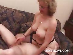 Stepmom, Aged, Blonde, Cougar, Fetish, Granny
