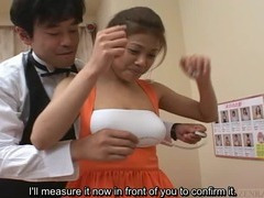 Subtitled Japan big breast brothel tan escort showcase