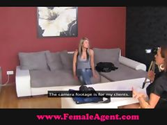 FemaleAgent Suspicious and sexy