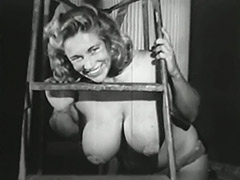 Virginia Bell Her Gorgeous Huge Tits 1950 porn video