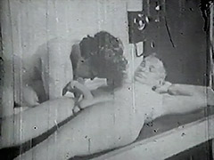 Old Man gets a Blowjob from a Girl 1950 porn video