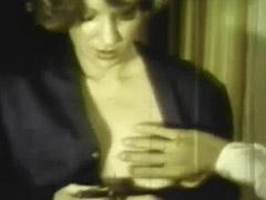 Girl Sucks and Fucks a Very Big Cock 1970