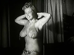 Chubby Bombshell Doing Naughty Moves 1950 porn video