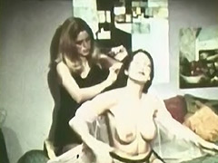1960, Brunette, Classic, Fetish, Lesbian, Vintage