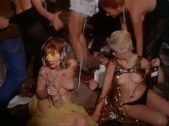 Topless Dancing at a Costume Party 1960 porn video