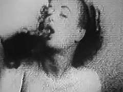 Beautiful Woman Undresses to get Naked 1950 porn video