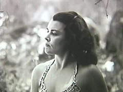 Woman Has a Good Time with Herself in Nature 1950 porn video