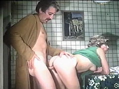 Horny Parents Fucking in the Kitchen 1970 porn video