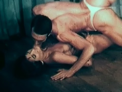 Nude Ballerina Dancing with Her Partner 1950 porn video