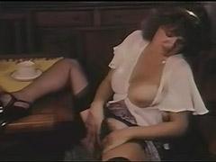 Big Tit Babe Masturbating and Teasing 1970