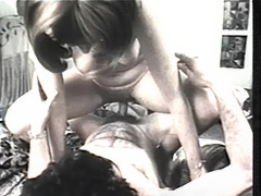 Husband Comes Home to Swingers Orgy 1960