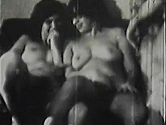 School Girls get a Hardcore Group Sex Lesson 1950 porn video