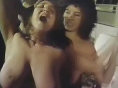 Stunning Women Fighting with Each Other 1970 porn video