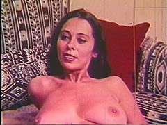 1960, Babe, Big Cock, Blowjob, Brunette, Classic