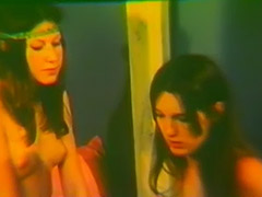 Sexy Girls in a Twist of Lesbian Love 1970
