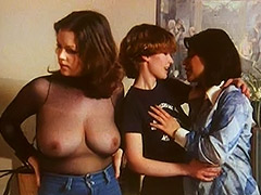 Three Lesbians in Golden Shower Action 1970
