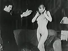 1940, Babe, Blonde, Blowjob, Classic, Cumshot