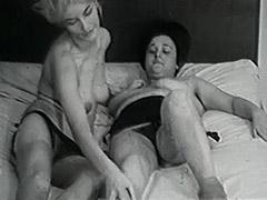 Mature and Granny Lesbians in Bed 1950 porn video