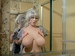Chesty Morgan Washing Her World's Biggest Bust 1970 porn video