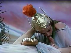 Beautiful Burlesque Chick Dancing 1970