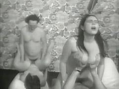 1960, Anal, Ass, Blowjob, Classic, Cumshot