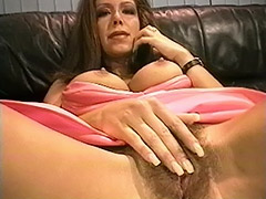 Outstanding Looking MILF is Getting Caught Pleasing Her Hairy Cunt by a Postman and then gets Fucked by Him porn video