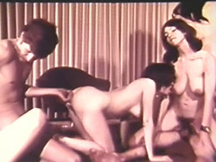 Big College Teens Group Fucking Party 1960