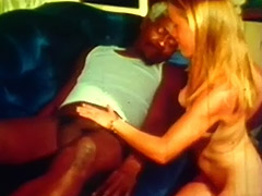Young Blonde and Big Black Cock of Old Man 1960